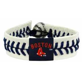 01e9c2b03968 Pulsera Béisbol Genuino Logo Boston Rojo Medias Boston Y Med