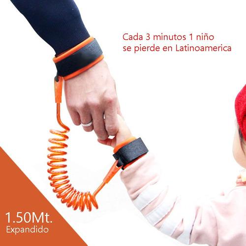 pulsera brazalete arnés de seguridad antiperdida para niños