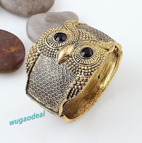 pulsera brazalete buho en color bronze 2016 incluye caja