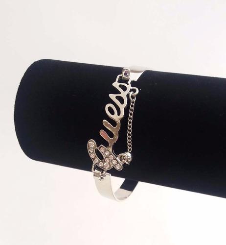 pulsera brazalete corazón elegante a la moda mujer - fisalia