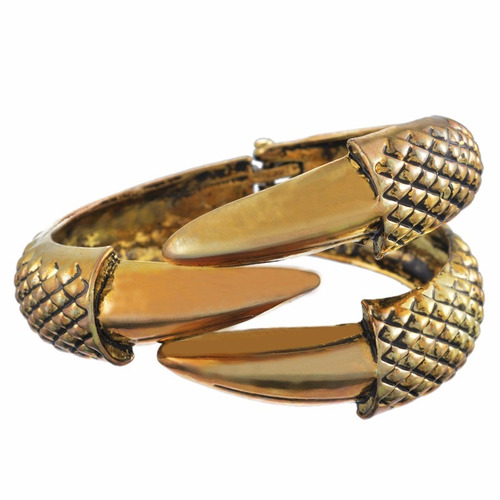 pulsera brazalete garra de dragon en bronze 2016