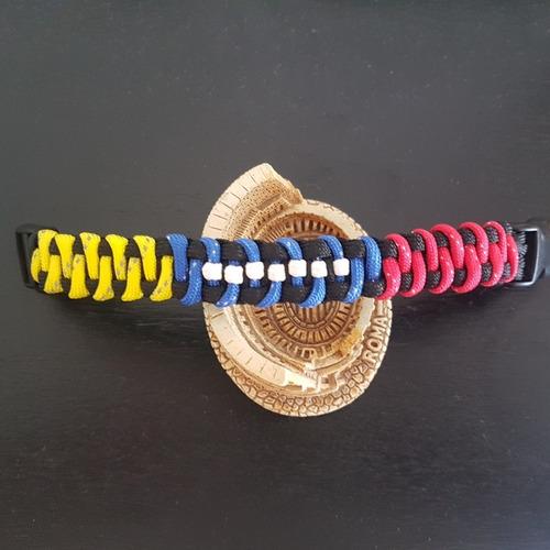pulsera brazalete paracord dama caballero niño venezuela