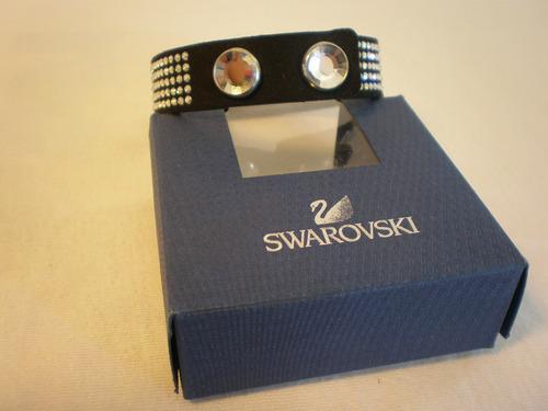 pulsera brazalete swarovski original.