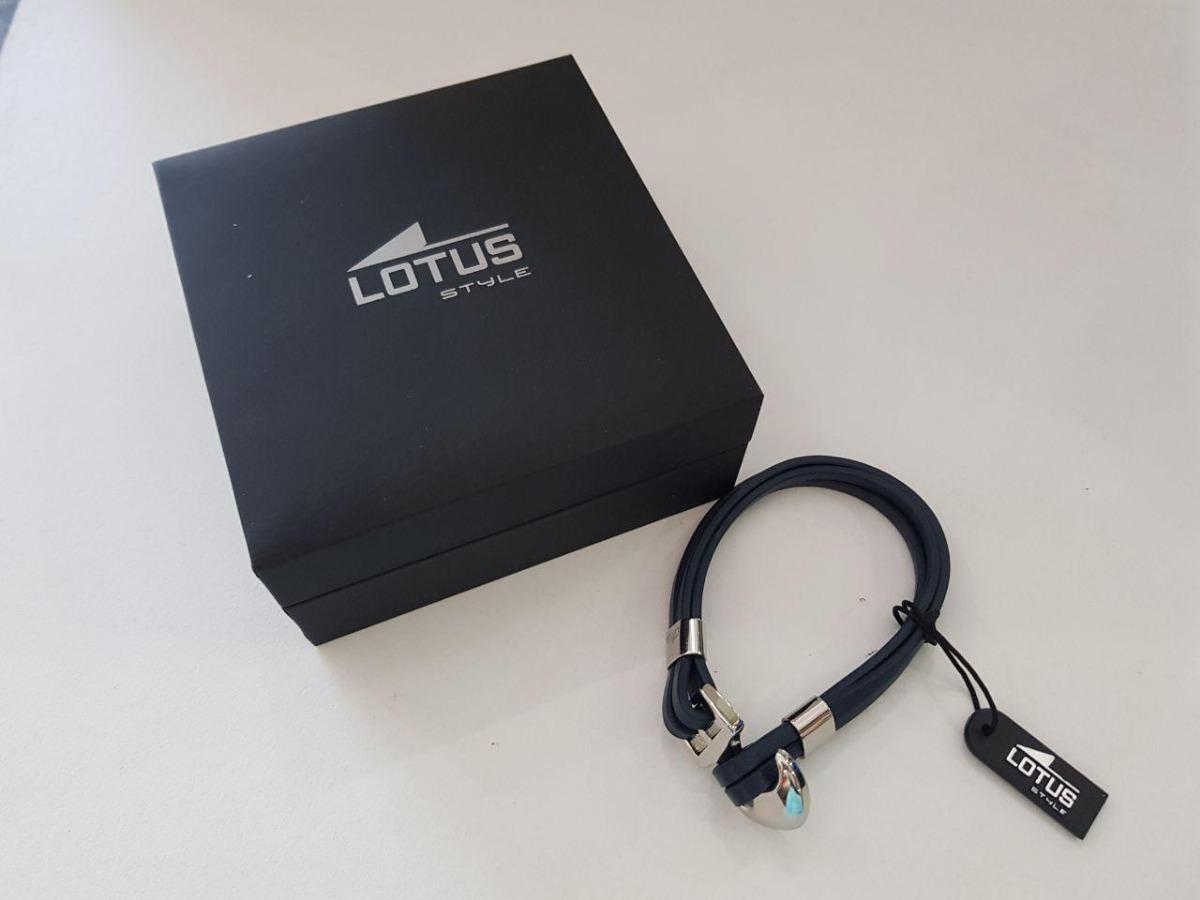 8e42efcbbac5 pulsera caballero ancla azul marino lotus style cod  6040100. Cargando zoom.