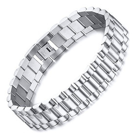el precio más bajo estilo distintivo fecha de lanzamiento Pulsera Tipo Rolex Plata Joyeria Pulseras - Pulseras en ...