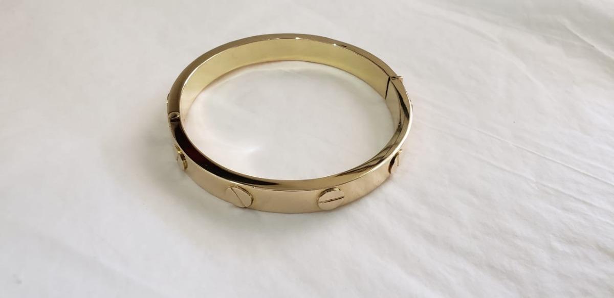 01cbfb224599 Pulsera Cartier Love Oro (a Tratar)