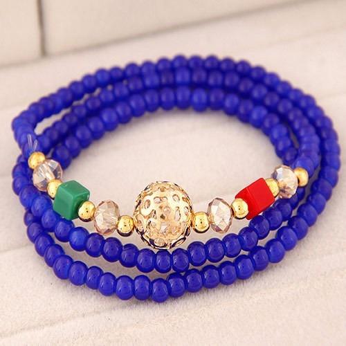 pulsera classic vintage navy azul