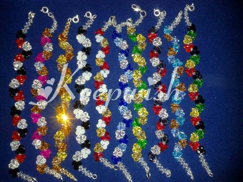 pulsera con cristales 100% calidad keepwish #kwsi017
