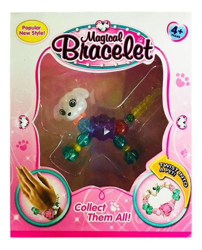 pulsera con forma de animal lindo para niños, regalo de cum