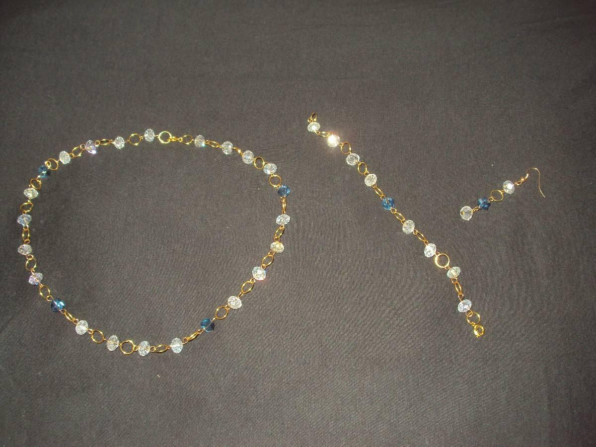 9db152ae578d pulsera cristal bisuteria. Cargando zoom... bisuteria fina elegante collar  zarcillos ...