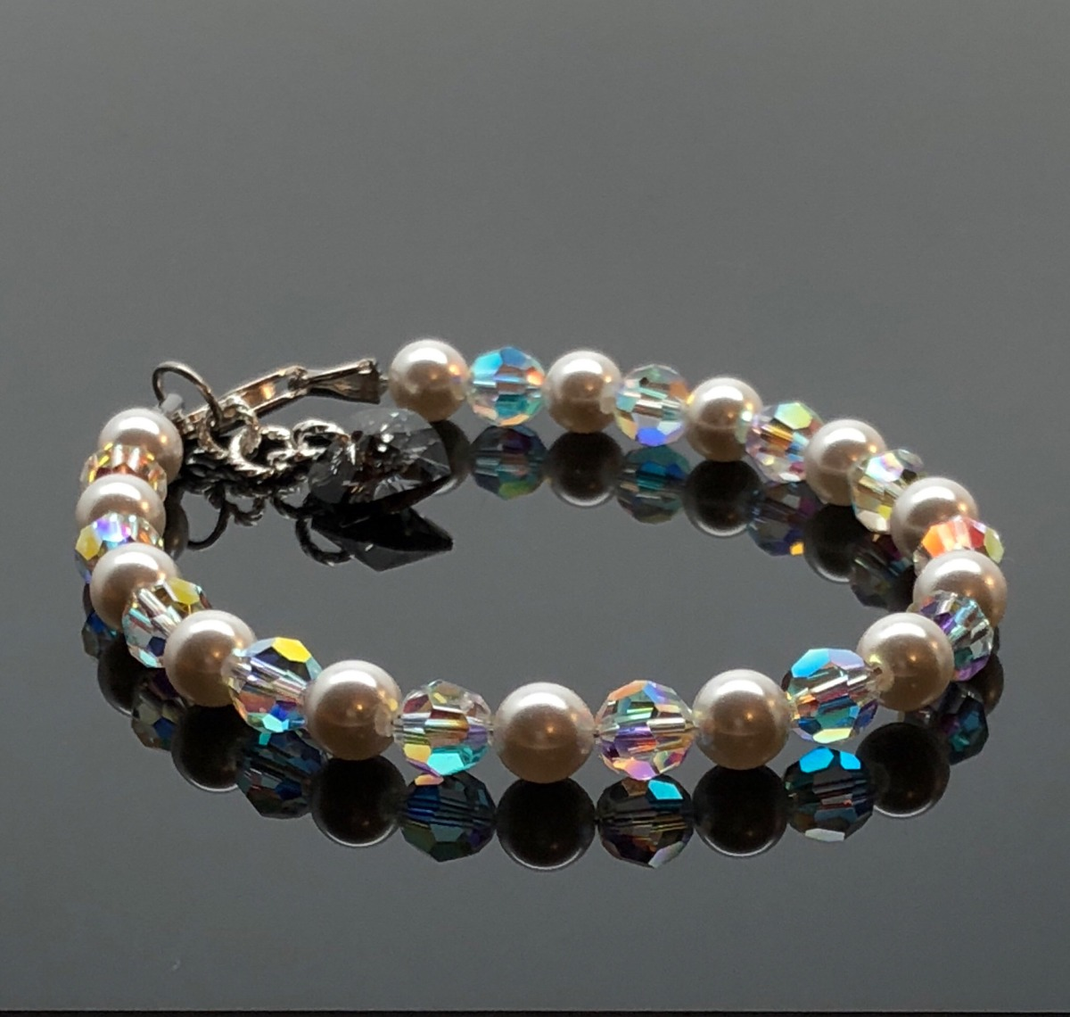 4fdfc18656d9 pulsera cristales swarovski plata 925 garantia mujer joyas. Cargando zoom.