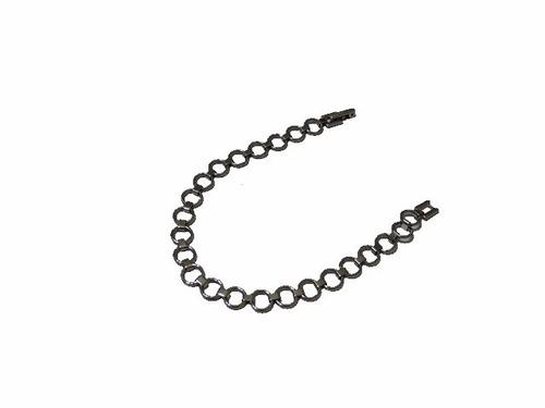 pulsera de acero quirurgico circulos 19 cm rincondeluz2008