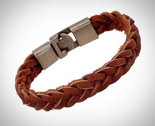 pulsera de cuero original para hombre