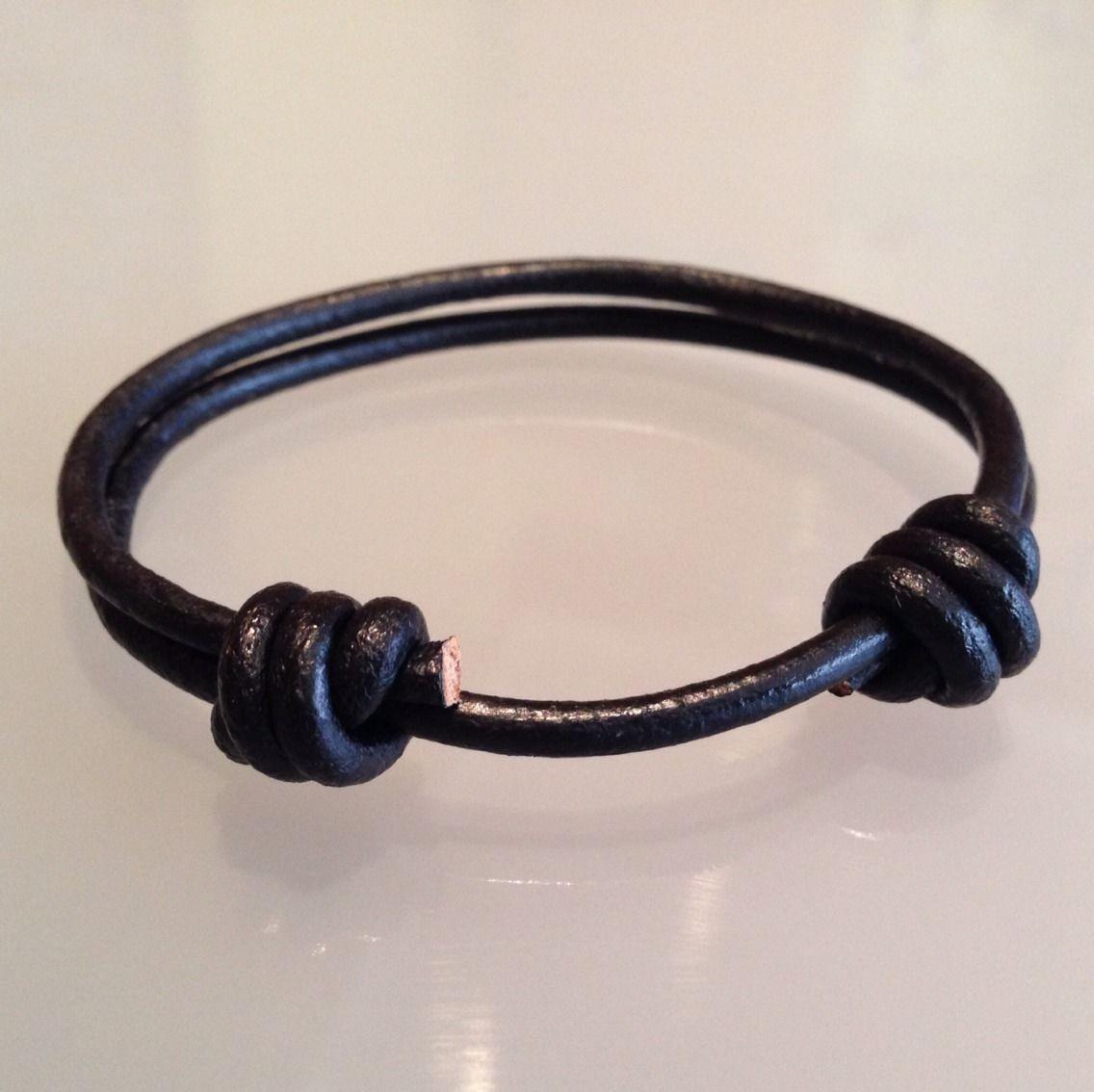 Tipos de nudos para pulseras de cuero parejas pulseras su for Tipos de pulseras