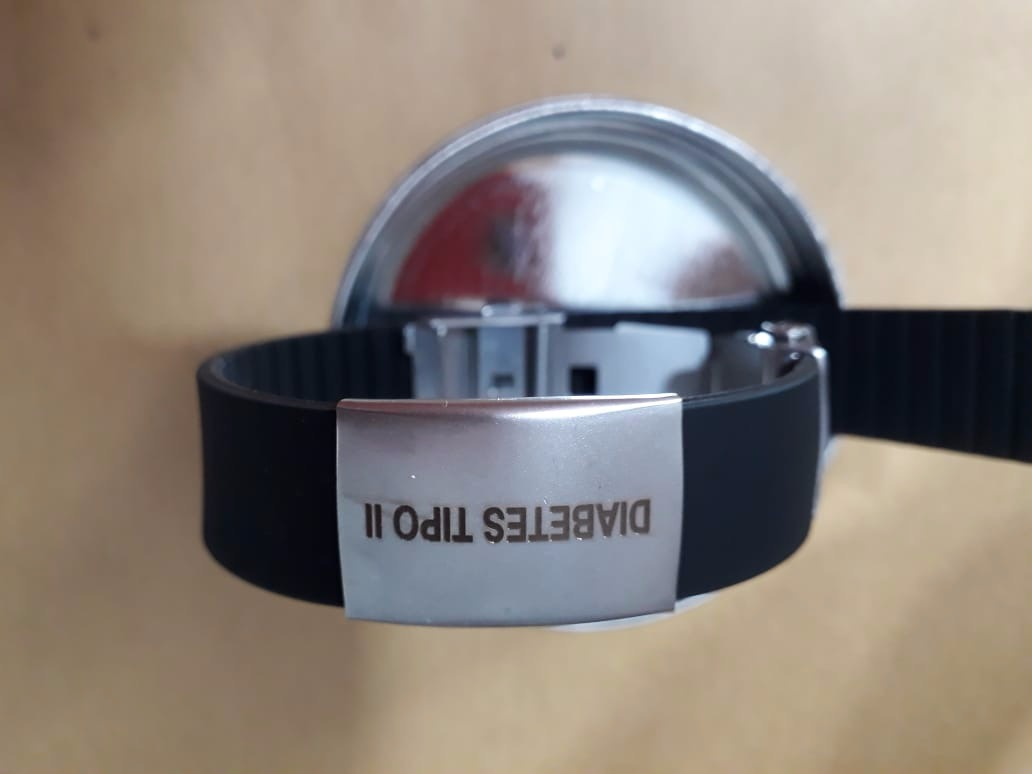 8c002838f116 Pulsera De Emergencia Personalizada