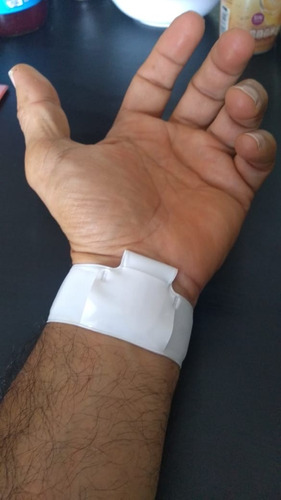 pulsera de gel antibacterial