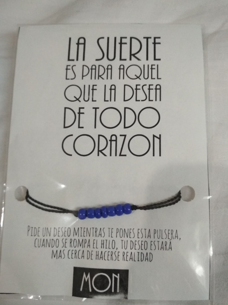 Pulsera De La Suerte O Frases Clave Morse - $ 35.00 en Mercado Libre
