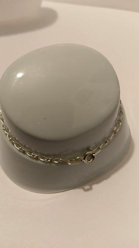 pulsera de mano y tobillera de plata de elefante cristal