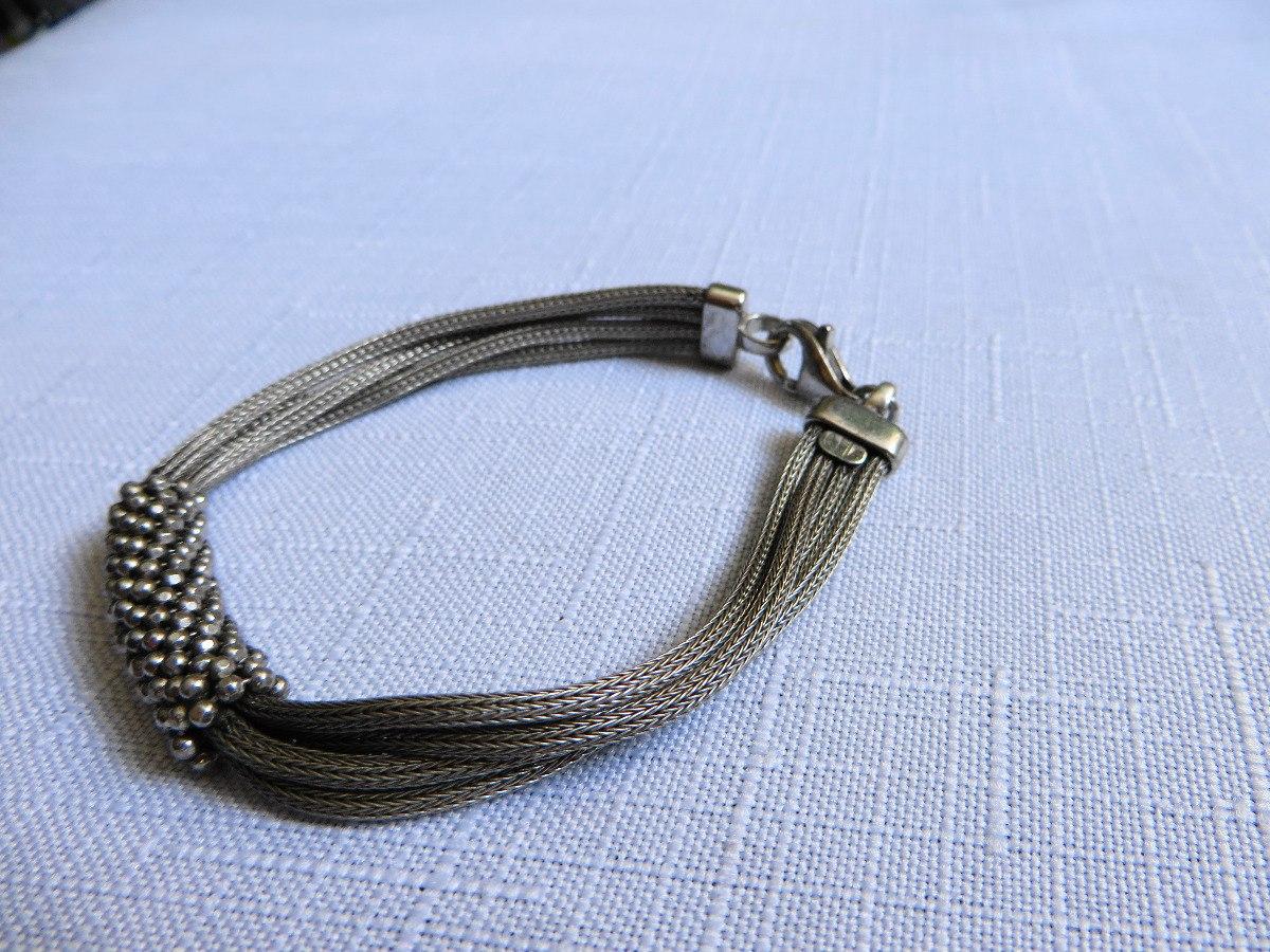 99453fd762d7 pulsera de marca ae italy plata ley .925. Cargando zoom.