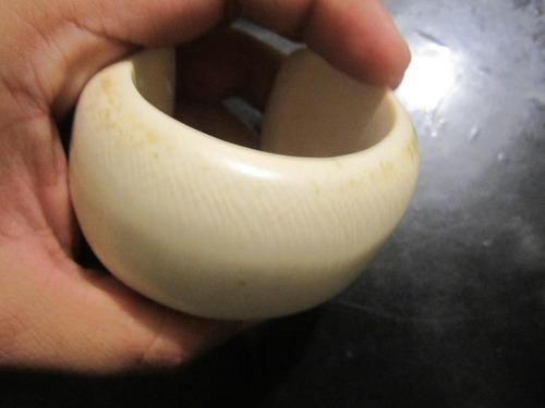 pulsera de marfil elefante brazalete cuarzo talisman