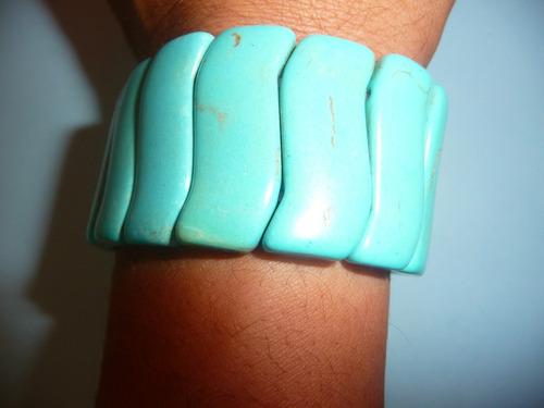 pulsera de moda de turquesa creada ajustable