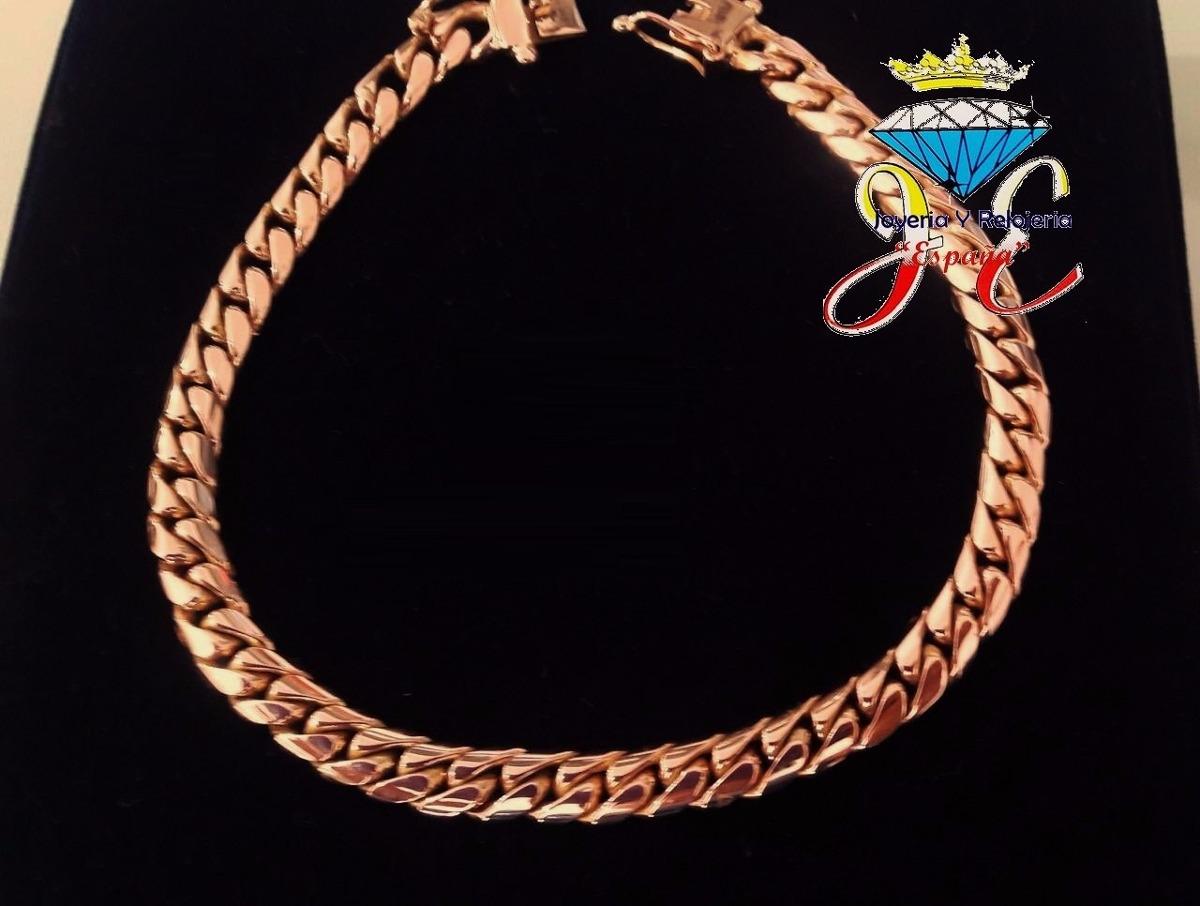 46fd3b7eaecd Pulsera De Oro 18k Lomo Corvina Hombre Cc35 Esclava Jespaña
