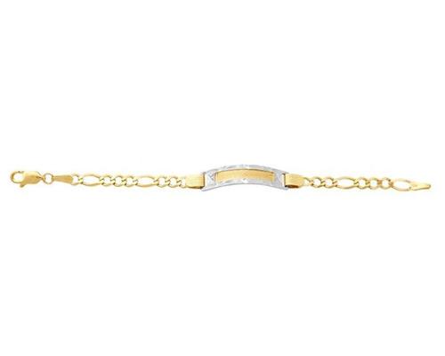 pulsera de oro horoz de 10 quilates pm-8056023