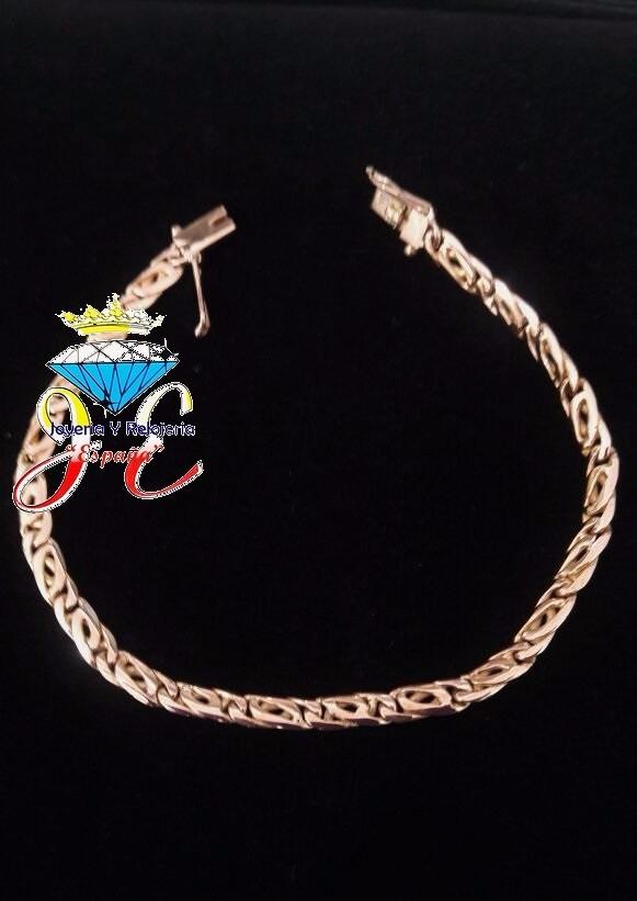 200d1c610f6d pulsera de oro legitimo 18k monaco mujer mod 15 jespaña. Cargando zoom.