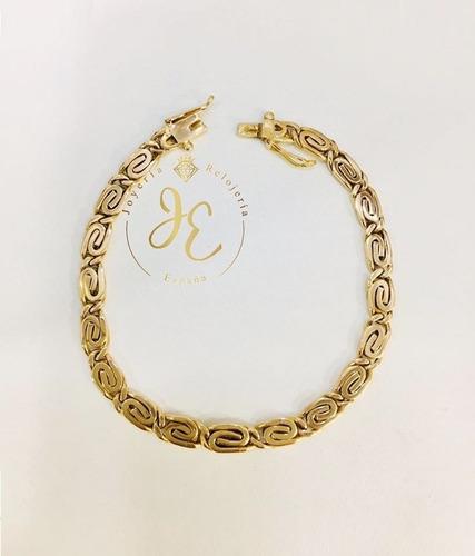 pulsera de oro ley 18k esclava italiana mujer cd_112 jespaña