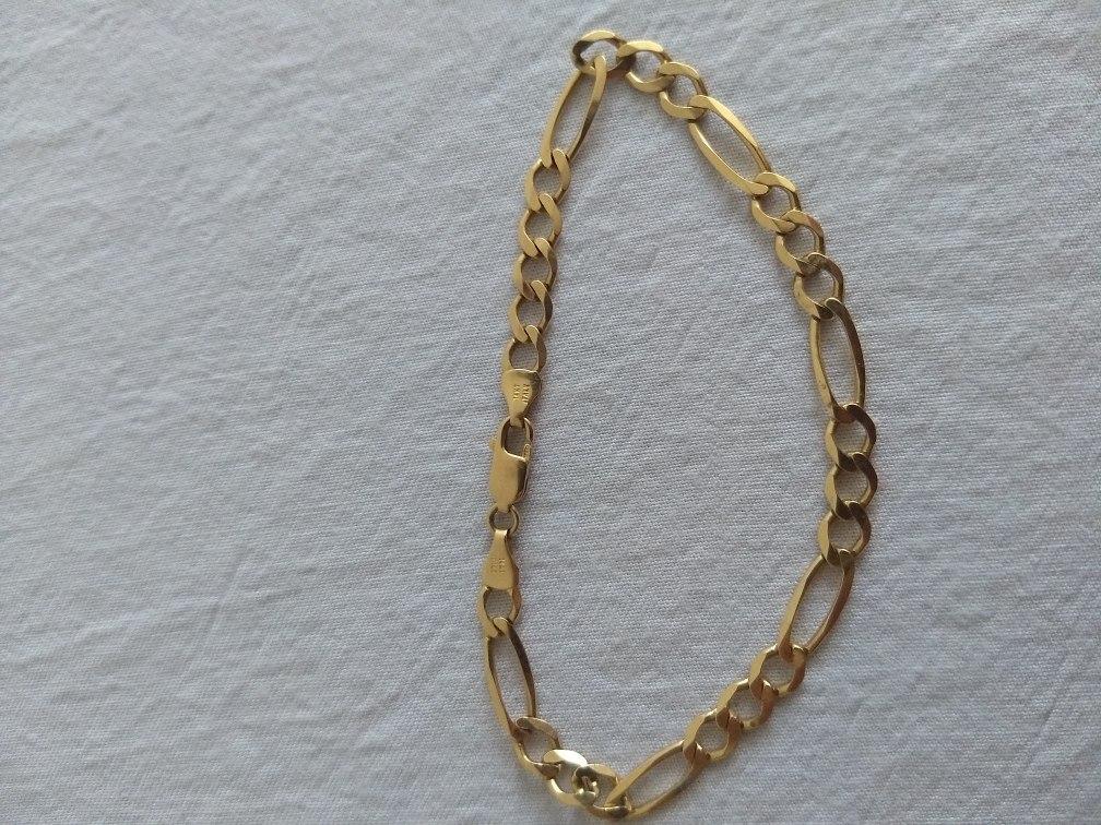 337491b4336a Pulsera De Oro Tejido Cartier 14 Kilates 5.90 Gramos 21.5 Cm - $ 5,300.00