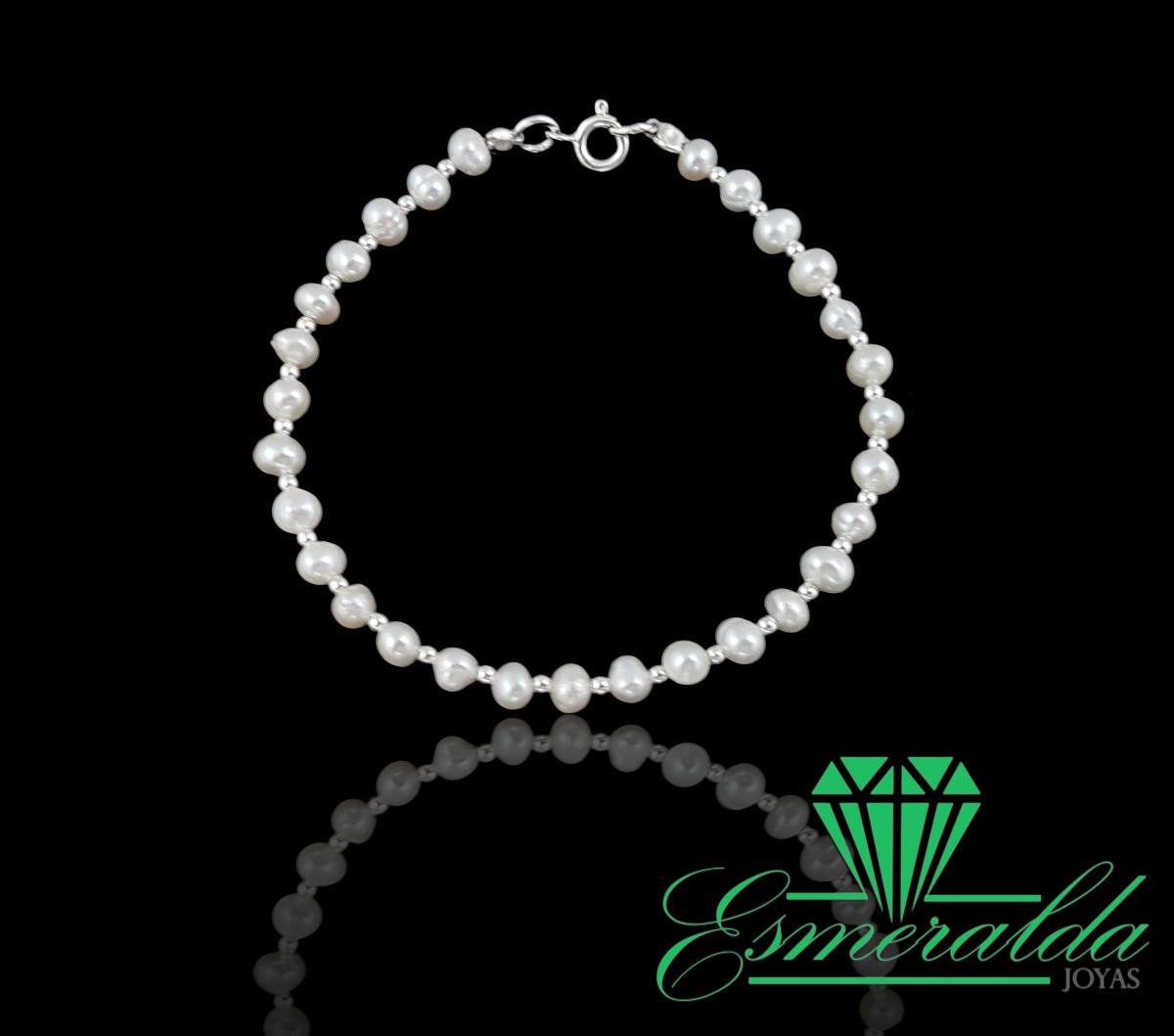 0f85d893fe65 pulsera de perlas naturales y aros en plata 925. Cargando zoom.