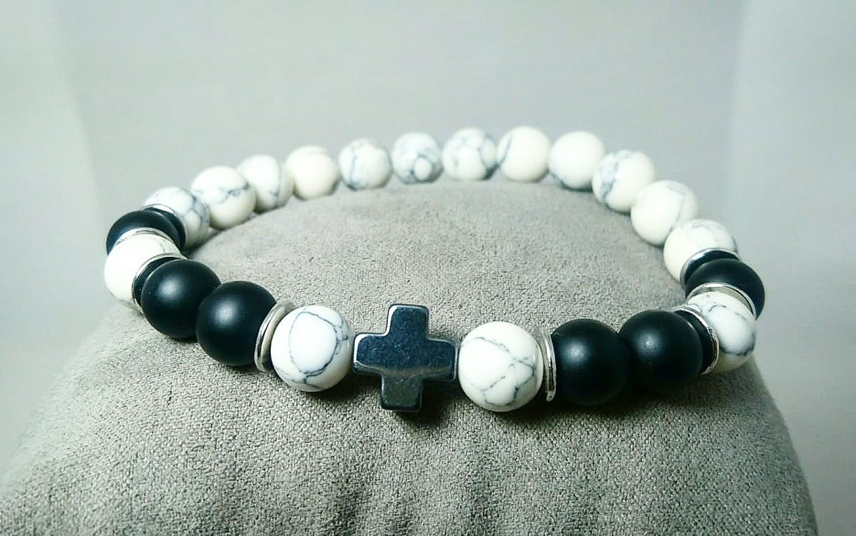 e5135565385f pulsera de piedras semipreciosas para hombre o mujer. Cargando zoom.
