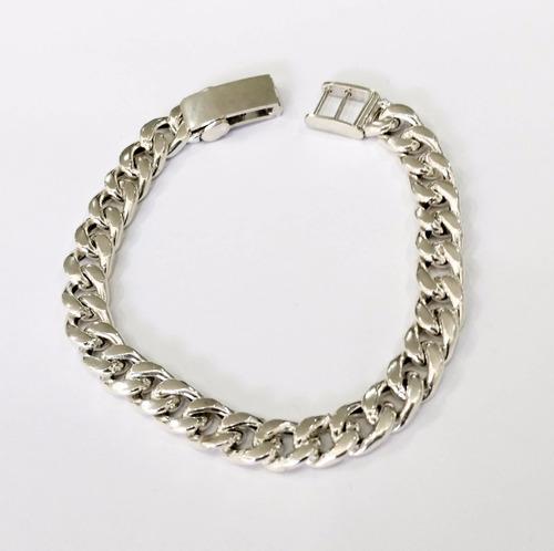 pulsera de plata 925 estilo groumeth 9mm || ctas