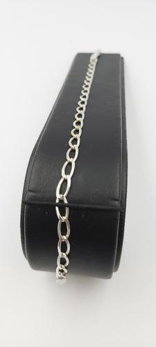 pulsera de plata fina 925 tejido éxito hombre mujer unisex