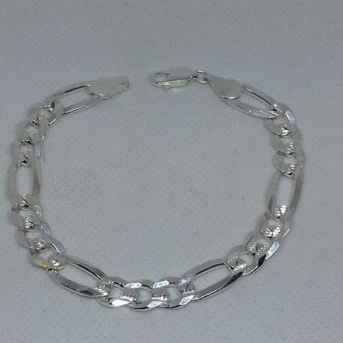 pulsera de plata ley925 tejido cartier 15grs21.5cmx7mm pc180