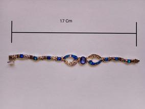 ac19bf946e35 Pulsera Piedra De Color Azul - Joyas y Relojes en Mercado Libre México