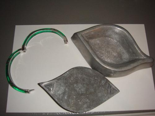 pulsera de plata y alhajero (excelente estado)