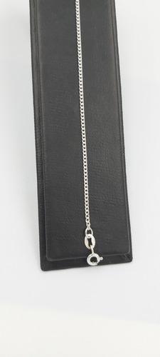 pulsera de pura plata fina ley 925 brillante unisex delgada