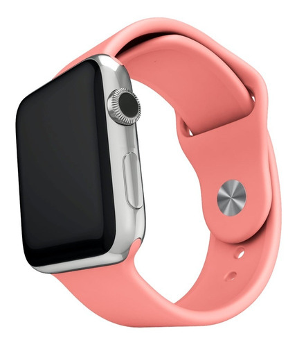pulsera de silicona compatible con apple watch medida 38/40