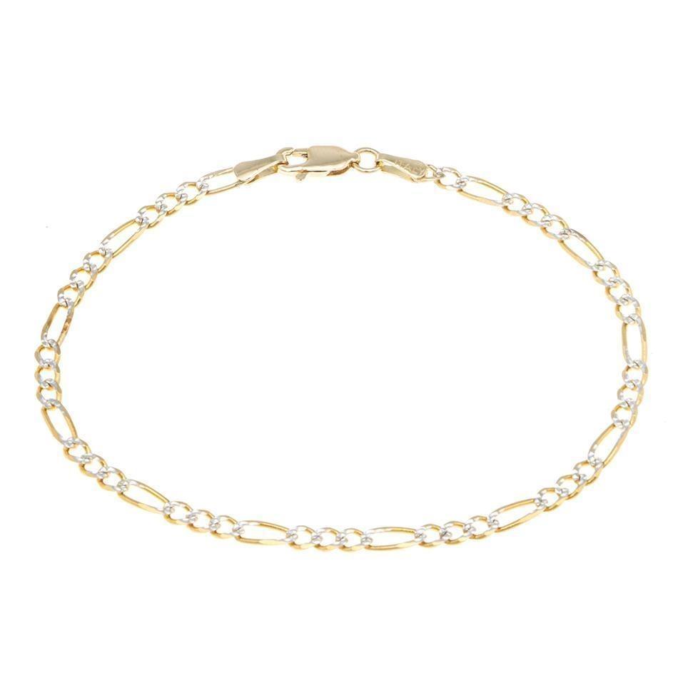 af3ca9e4ec93 pulsera de tres eslabones por uno en oro amarillo -122991349. Cargando zoom.