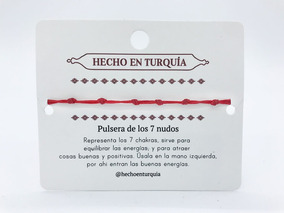 6837c87c7373 Pulsera De Hilo Rojo 7 Nudos - Pulseras en Mercado Libre Colombia