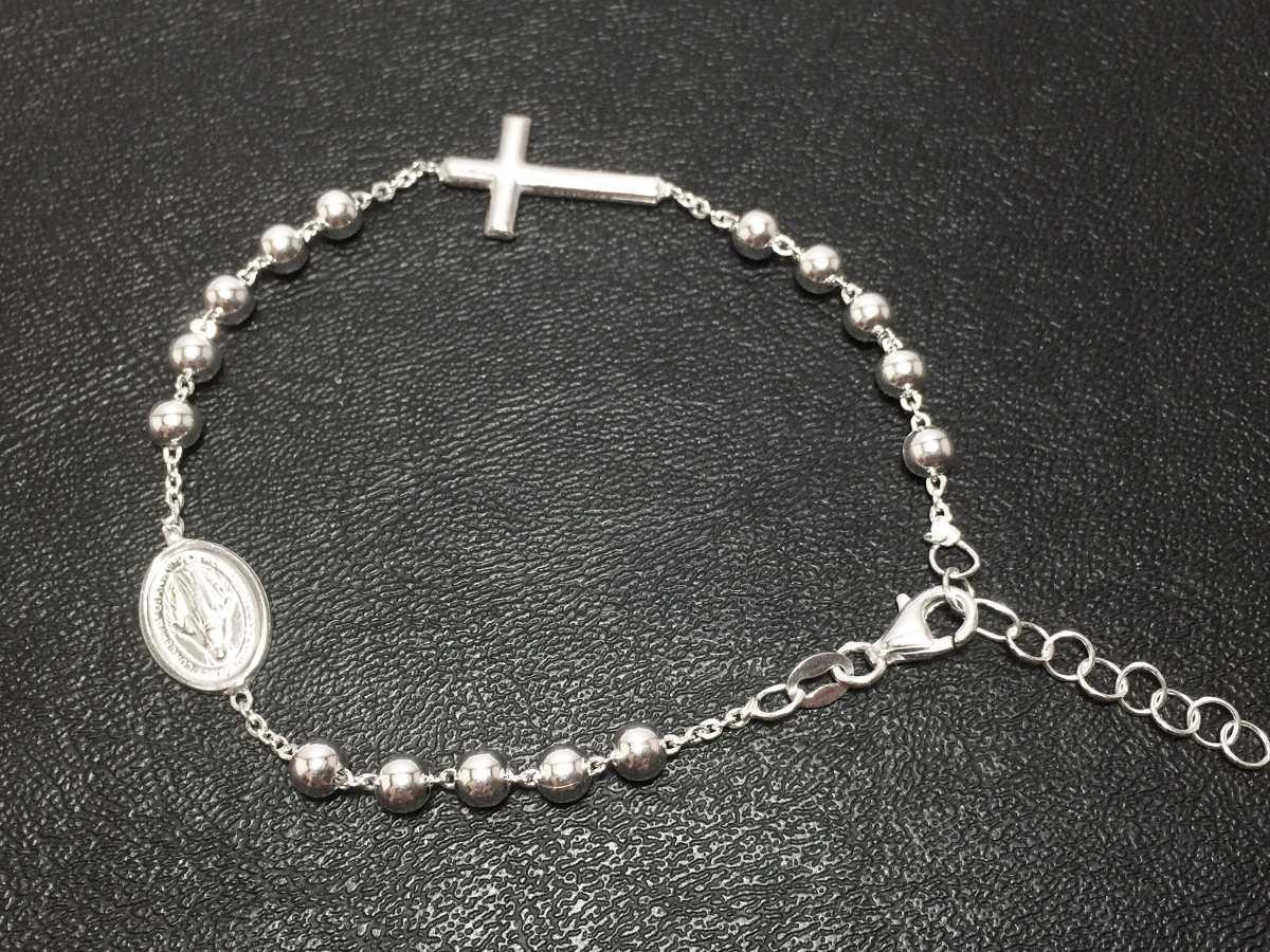 c30836303cf4 pulsera denario de plata 925 modelo dolce   gabbana 4mm 21cm. Cargando zoom.