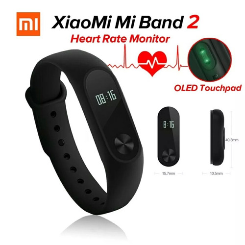 pulsera deportiva smartband xiaomi mi band 2 envío gratis