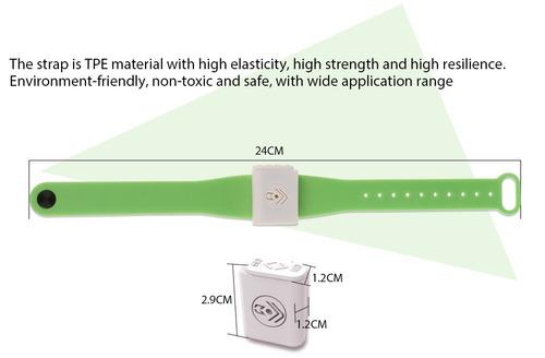 pulsera electrónica repelente mosquito para niños adultos