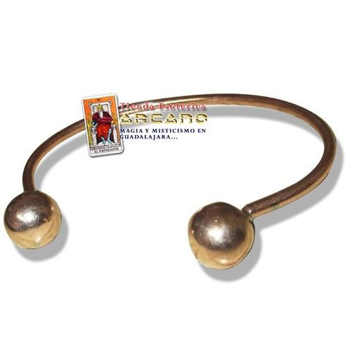 pulsera energetica - de cobre
