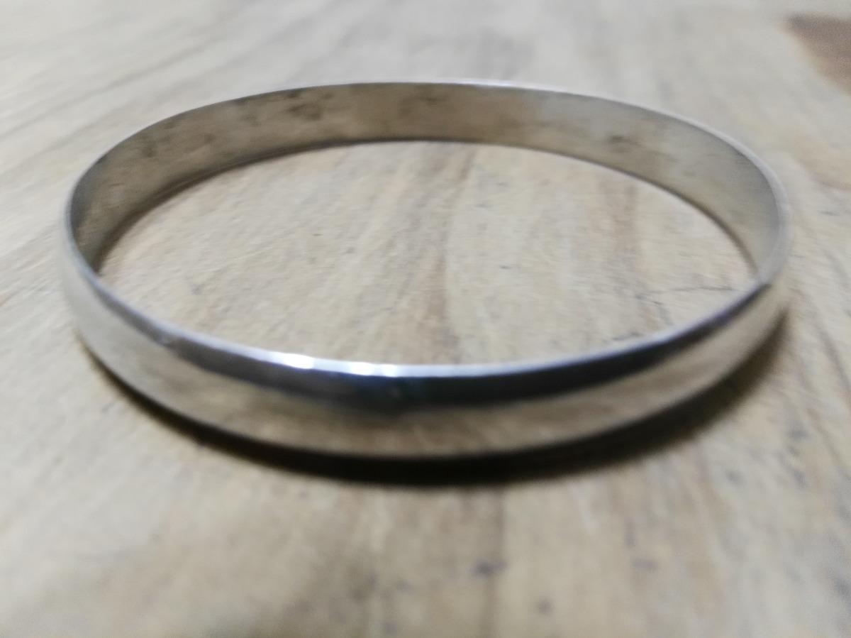 92e8d7b02d30 pulsera esclava 1 2 caña maciza realizada en plata 925. Cargando zoom.