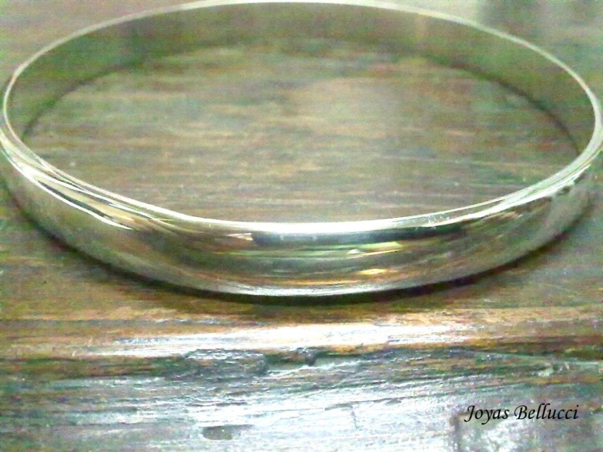 bc25e46f4fbe pulsera esclava aniversario 7mm plata 925 pulida. Cargando zoom.