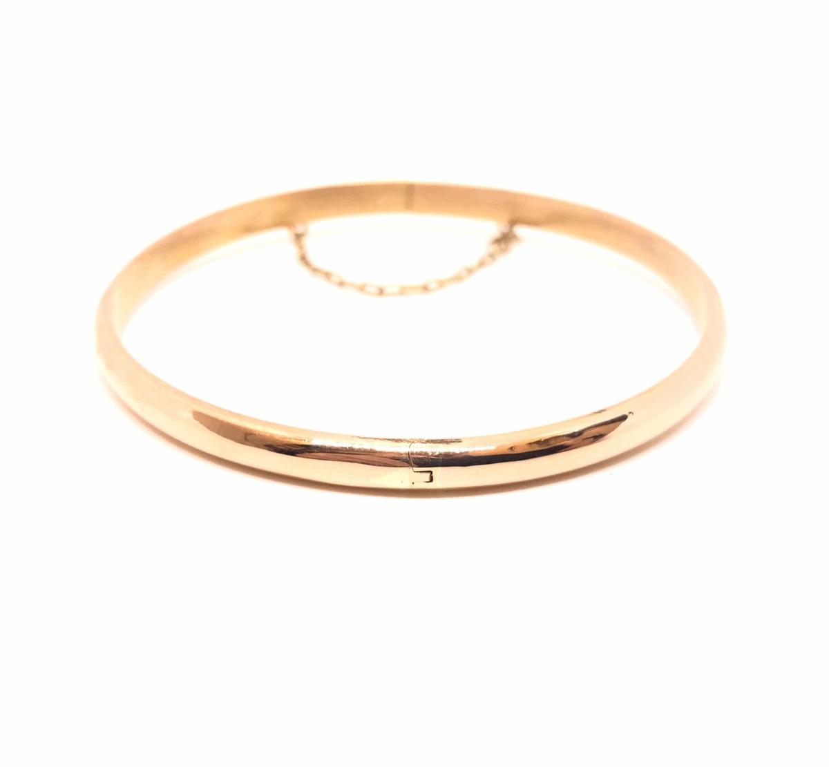 3799d1cef4bf Pulsera Esclava De Oro 18kt Para Mujer De 70mm (p97) -   23.025