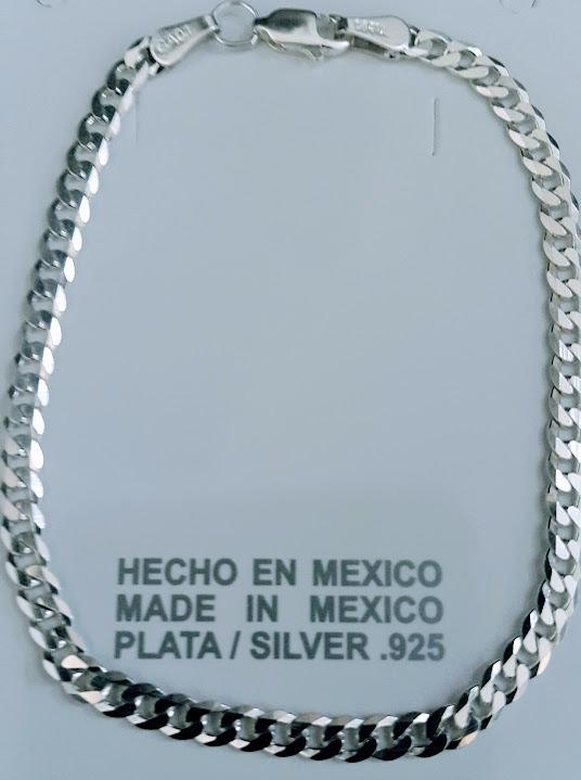 6dcad6422369 Pulsera Esclava Eslabón Cartier Caballero Plata Ley 925 -   550.00 ...