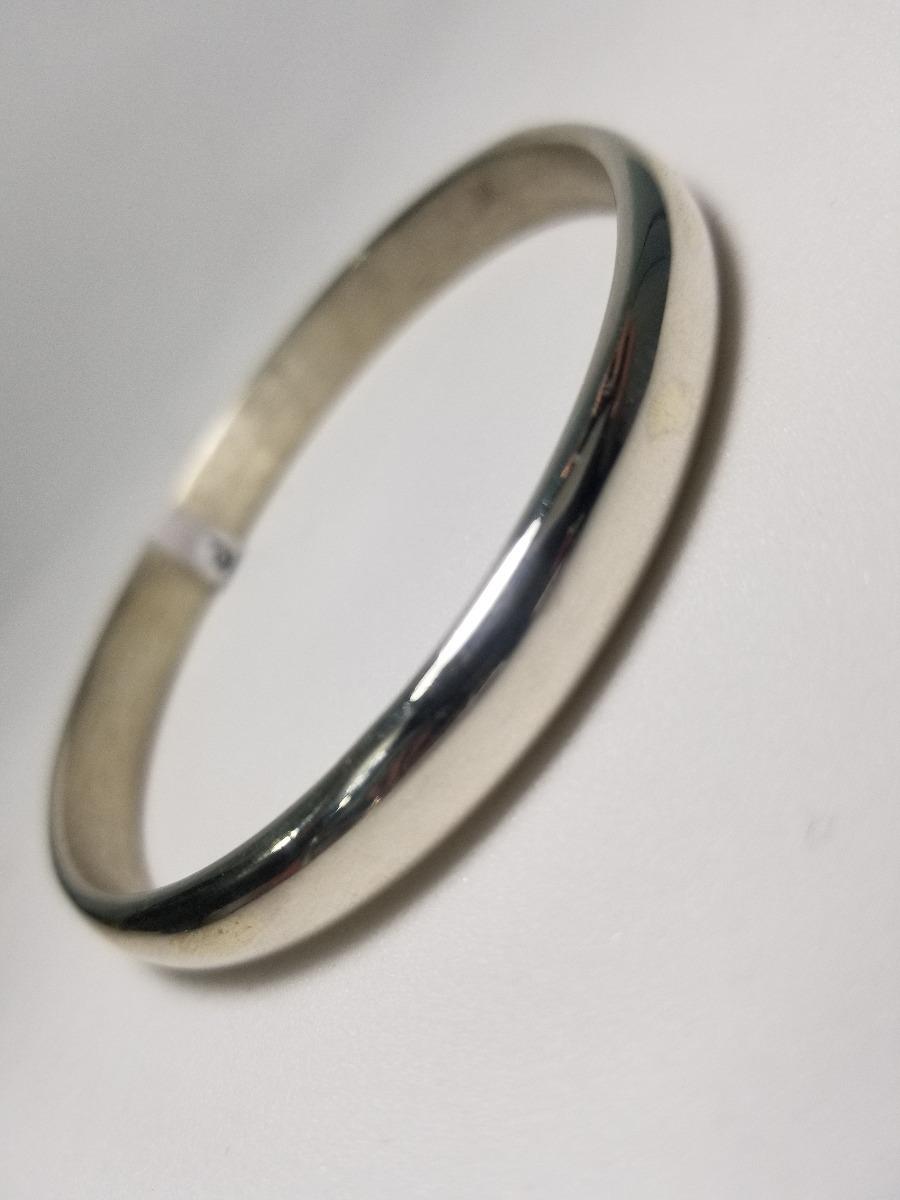8ccaff7c657e pulsera esclava media caña 7mm de plata 925. Cargando zoom.